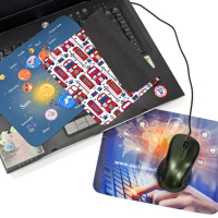 Mouse pad per notebook 3 in 1
