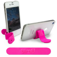 Promotional Multifunctional Silicone Magnetic Clip with Raised Logo