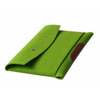 "Felt Macbook Air 13.3"" inch Case Laptop Sleeve with Button Snap"