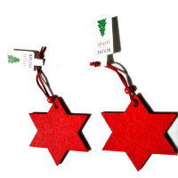 """Пользовательские войлочные рождественские украшения Xmas Tree Hanging Decoration -Star"