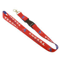 "1"" (25mm) Custom Dye Sublimation Lanyards-with Buckle Release"