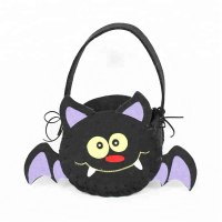 Wholesale Halloween Decoration Bat Halloween Candy Bags