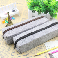 Felt Pencil Bag Case Stationery Bag-22cm x 7cm x 6cm