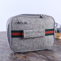 Promotional Insulated Felt Cooler Bag Lunch Thermos Bag Work School Travel Bag