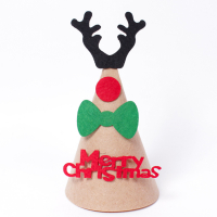 Custom Christmas Desktop Decor Felt Mini Top Hat for Kids