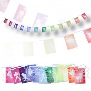 12-in-1 Rectangular Buntings by Sublimation with Flag Size of 6 x 9 inches