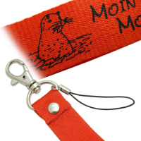 Stocky Polyester Lanyard Mobile Pendant with Hook and Revit
