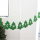 "Felt ""Merry Christmas"" Banners Wall Hanging Bunting Flags-Xmas Trees"