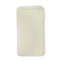 Classic Mobile Phone Case Bag 14 x 8.5 cm-Whiet