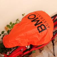 Custom Logo Waterproof Outdoors Cycling Soft PVC Bike Seat Cover