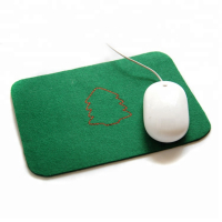 Custom Mult-functional Felt Mouse Mat Coffee Coaster Table Mat