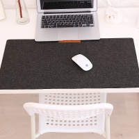 Felt Table Mat Mouse Pad Keyboard Mat with Pen Holder 63cm*33cm