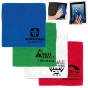 "12"" W x 12"" H Custom Heavy Duty Microfiber Towel"