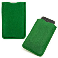 Classica custodia in feltro poliestere eco friendly per iPhone 5