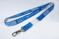 Custom Promotional Polyester Monolayer Woven Lanyards