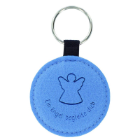 Felt Keyring with Laser Engraved Logo