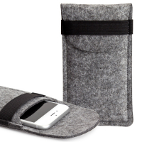 Felt Mobile phone wallet 'Mobile & Money'