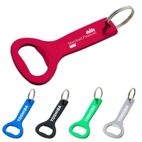 Custom Aluminum Bottle Opener Keyring-Metal Keychain/Can Opener