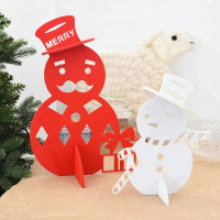 """Fai-da-te Christmas Desktop Ornaments Xmas Party Supplies -Snowman"
