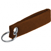 Customized Felt Keychain Strap Keyring Key Holder-Earth