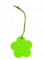 Promotional Easter Felt Hanger Key Tag-Flower 6cm