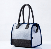 Portable Insulated Lunch Bag Felt Cooler Bag Picnic Storage Tote Handbag Lunch Box