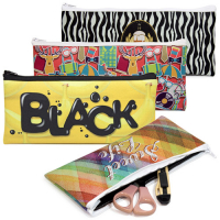 Neoprene Pencil Bags by Sublimation