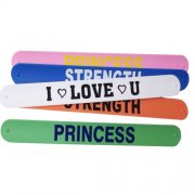 1''x 9'' (2.5*23cm) Silicone Wristband Slap Bracelet Awareness Wristband