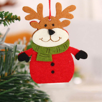 Personalized Felt Hangings Christmas Ornaments Xmas Tree Decoration-Reindeer