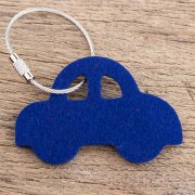100% Merino Wool Felt Key Finder-Car